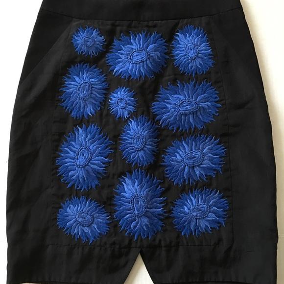 Anthropologie Dresses & Skirts - Leifsdottir Astor Anthropologie black skirt 0 XS
